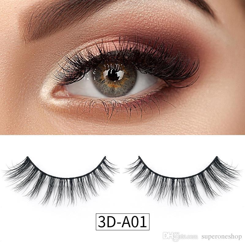 4fbad1c987e Real High Quality 3d Mink Eyelashes Natural Long Soft Mink Hair False  Eyelashes For Beauty Makeup Extension 3d Mink Eye Lashes Applying False  Eyelashes Best ...