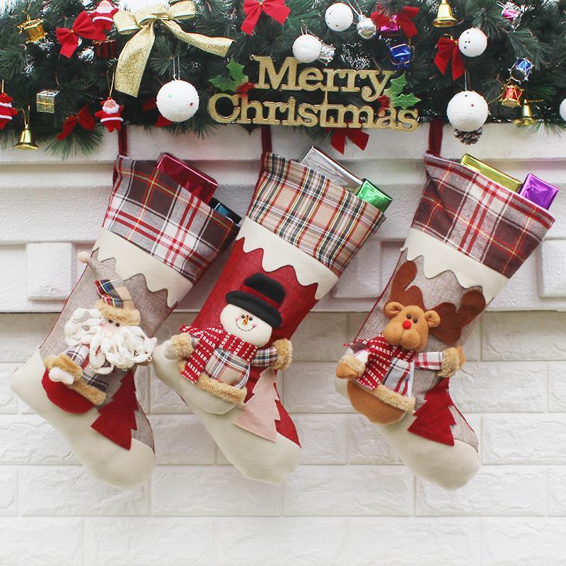 Großhandel Kreative Große Weihnachtsstrumpf Geschenke High Grade ...