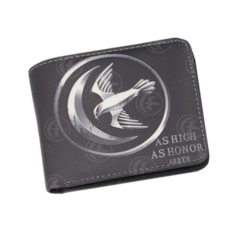 Hot TV American Game of Thrones Anime Mens Wallets Leather Short Mini Female Purse carteira feminina Photo Money Cards Pockets