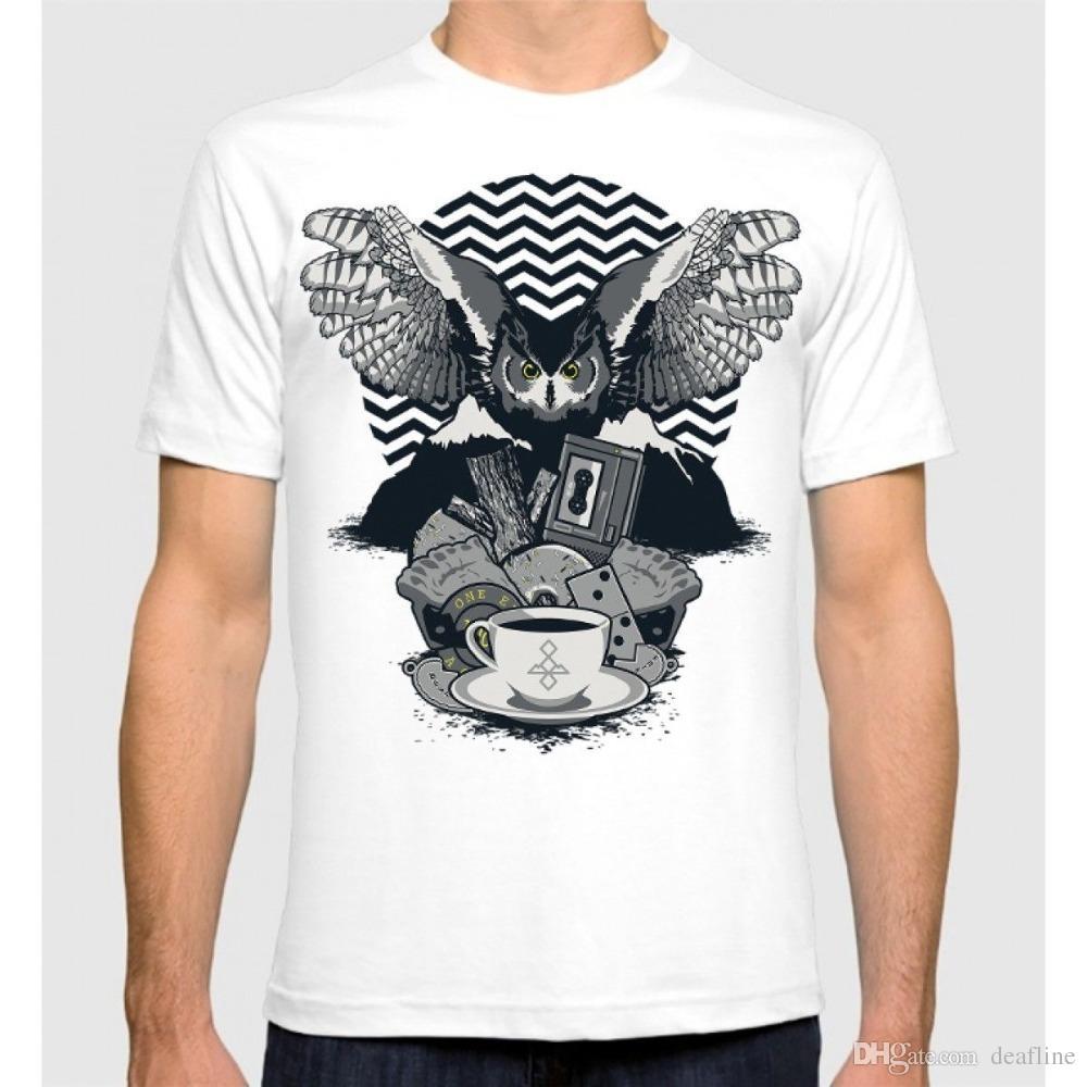b6d5a0dad 2018 Crossfit T Shirts Twin Peaks Art T-Shirt David Lynch 100 ...