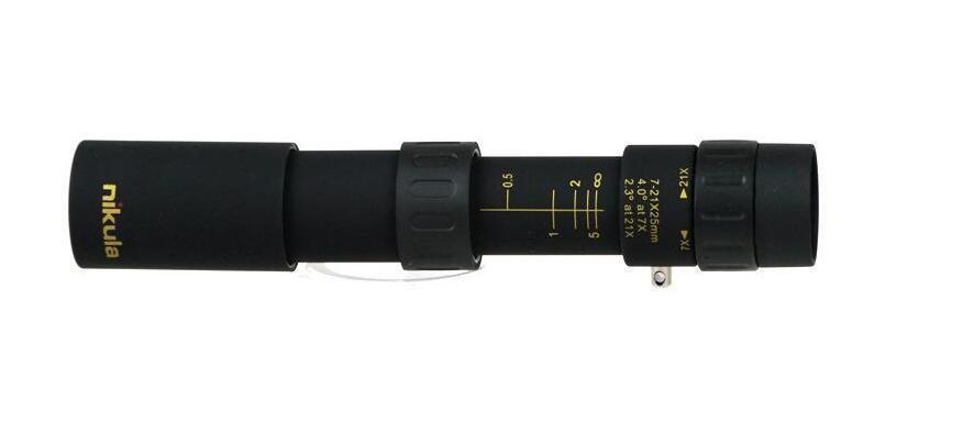 مناظير نيكولا 10-30x25 تكبير أحادي جودة عالية تلسكوب جيب binoculo الصيد بصري المنشور نطاق لا ترايبود 10 قطعة