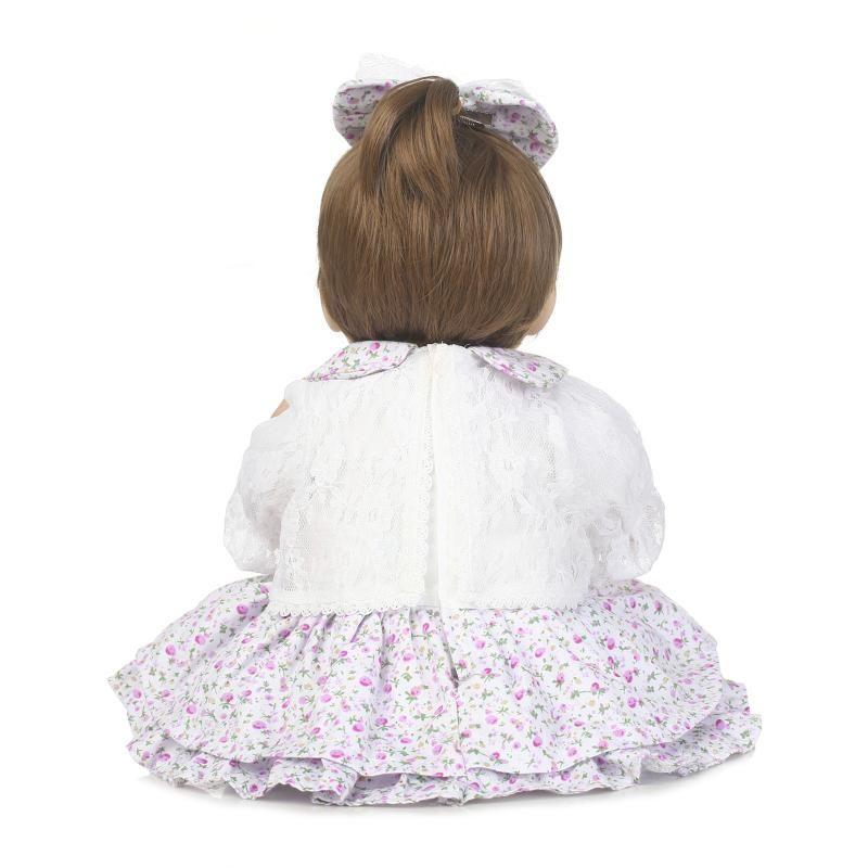 42cm Hot Sale Cheap Bebe Reborn Lifelike newborn Baby Bonecas baby reborn doll Kid Toy Soft Silicone Reborn Baby dolls Juguetes