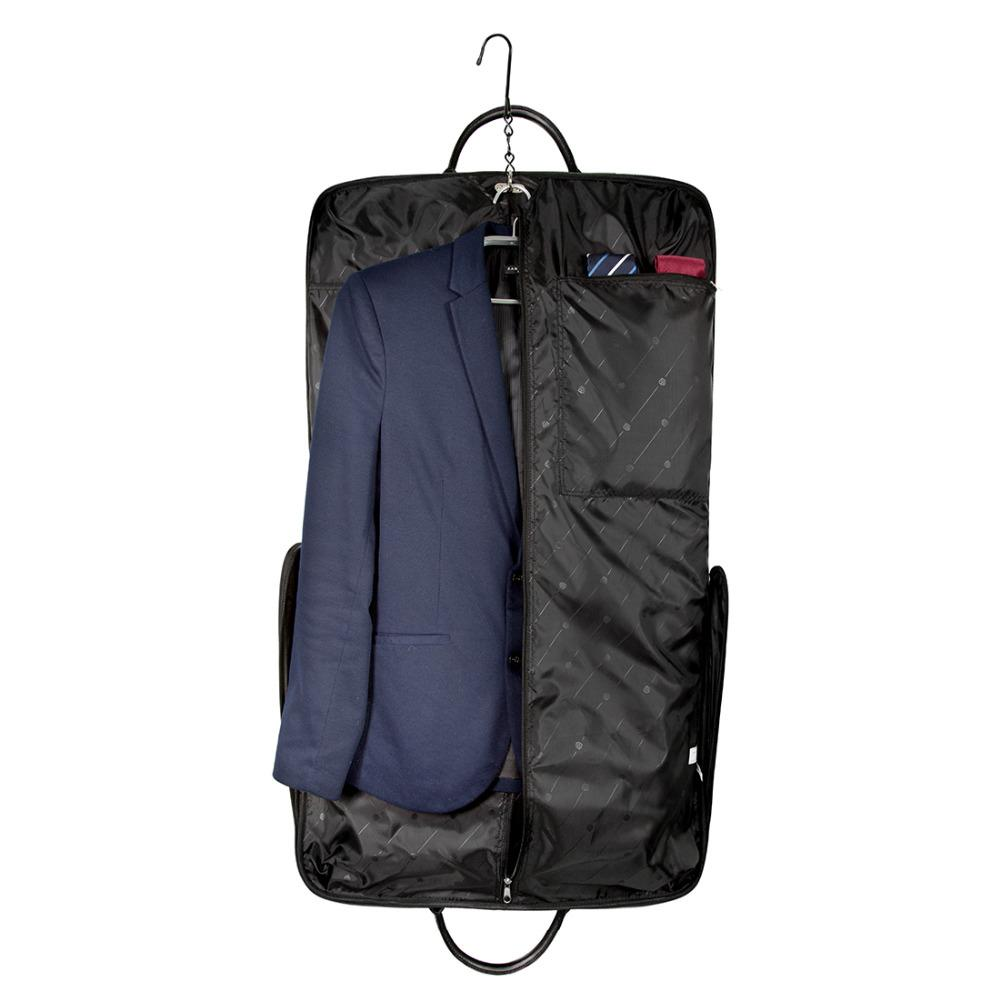 7b2a9627a518 BAGSMART 2017 Waterproof Black Nylon Garment Bag With Handle Lightweight Suit  Bag Business Men Travel Bags For Suits Bags Online Shopping Travel Duffel  Bags ...