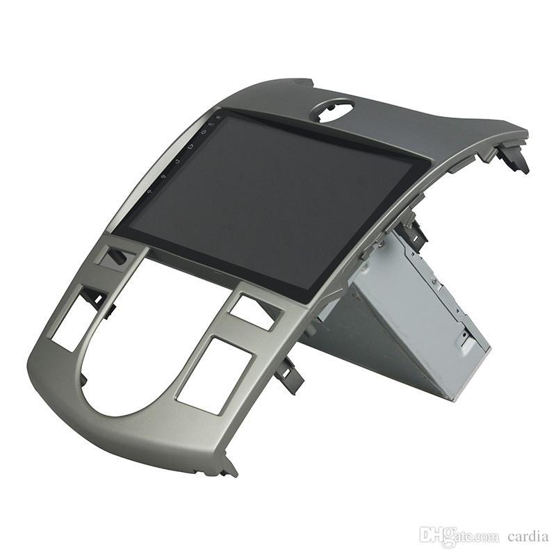 مشغل دي في دي للسيارات لkia CERATO فورتي في اللمس الكامل 8inch Octa-core Andriod 8.0 مع GPS ، تحكم عجلة القيادة ، Bluetooth ، راديو