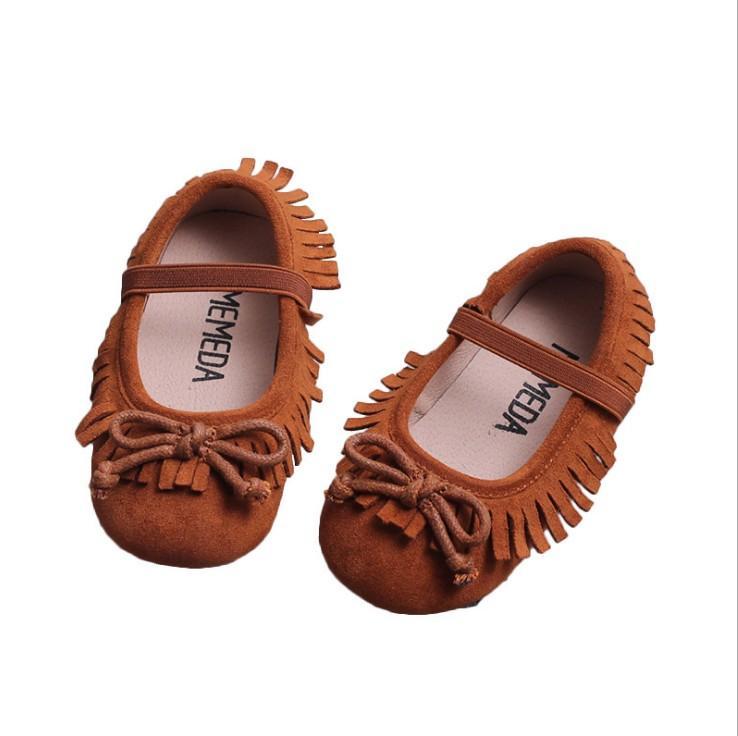 19943f0fc3bd0 Acheter Automne Nouveaux Enfants Filles Gland Princesse Chaussures Enfants  Arcs Cravate Confortable Chaussures Décontractées Enfants Chaussures Fille  ...