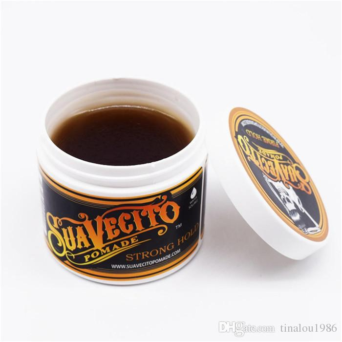 Hot Sell Suavecito Pomade Strong style restoring Pomade wax big skeleton slicked back hair oil wax mud keep hair pomade for men