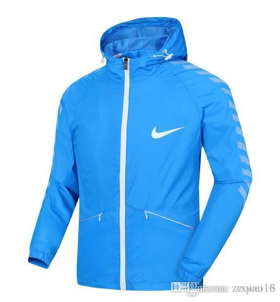 d5d3caeaa5 NIKE 2019 Fashion L 4XL Brand Men Windrunner Jacket Thin Jacket Coat ...