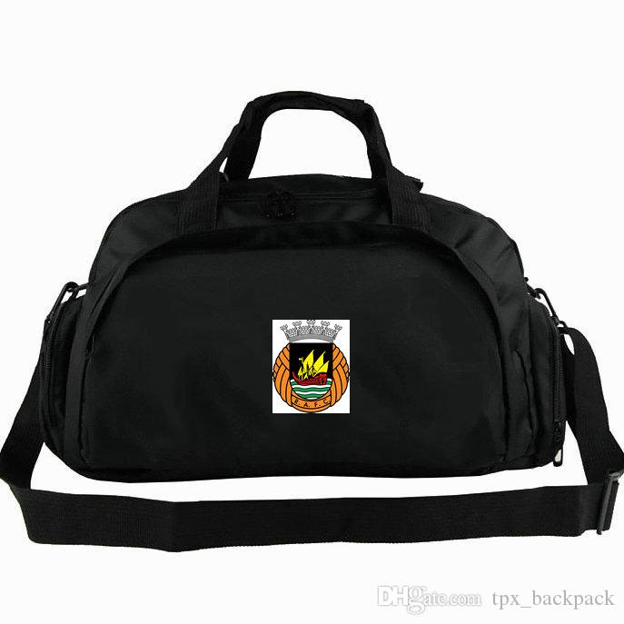 Rio Ave Duffel Bag RAFC Tote FC Portugal Football Club Backpack Soccer  Exercise Luggage Sport Shoulder Duffle Outdoor Sling Pack Rio Duffel Bag  Online with ... e4a43cb7106