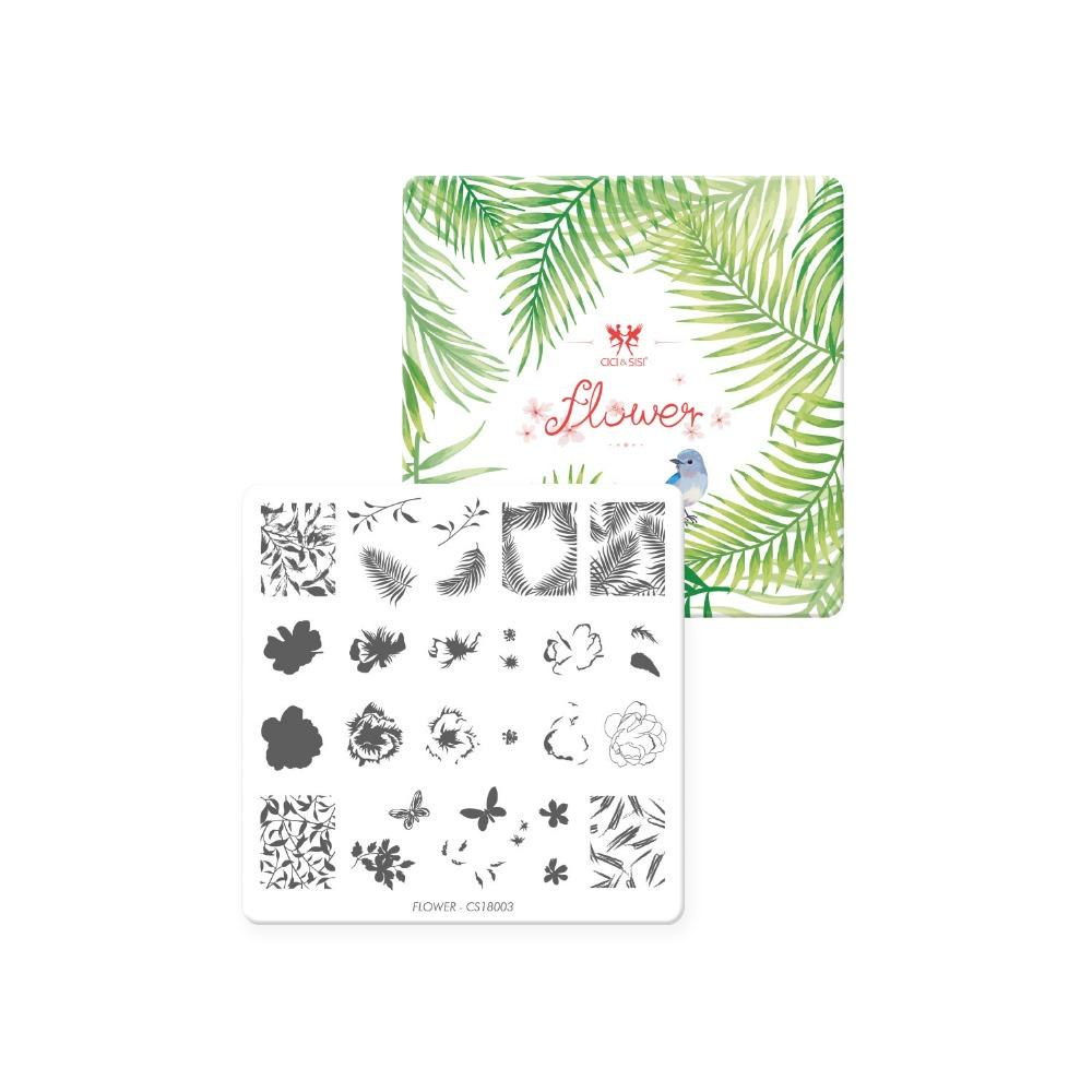 CICISISI Nail Art Stamping Plate Decorations Konad Manicure Template Stamp Flowers Images Pens Tools From Forfaceuse