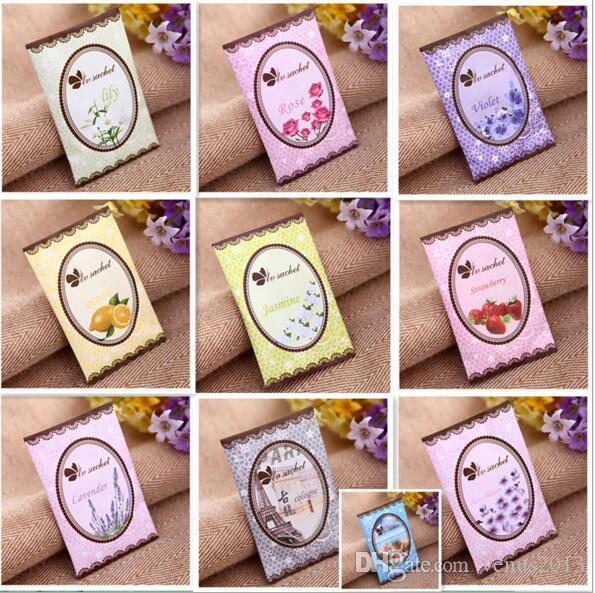 natural multi-functional air freshener sachet for homes car mini scent bag different fragrances wholesale price