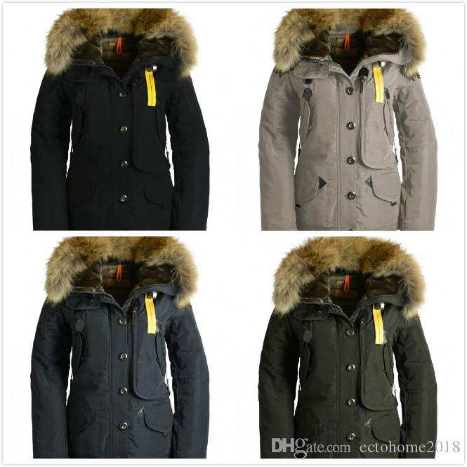 2019 2019 New Arrival Parajumpers WOMEN Doris JACKET COAT Black Navy  Graphite Jacket Winter Down Parka Fur Sale With Outlet From Ectohome2018 0abe11b59