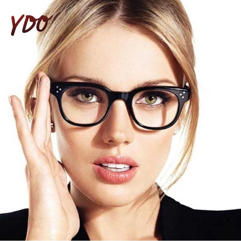 ac7ac820e 2019 YDO New Round Glasses Frame Women Fashion Transparent Computer Eye  Glass Degree Eyeglasses Optical Frames Reading Spectacles From Fenkbao, ...