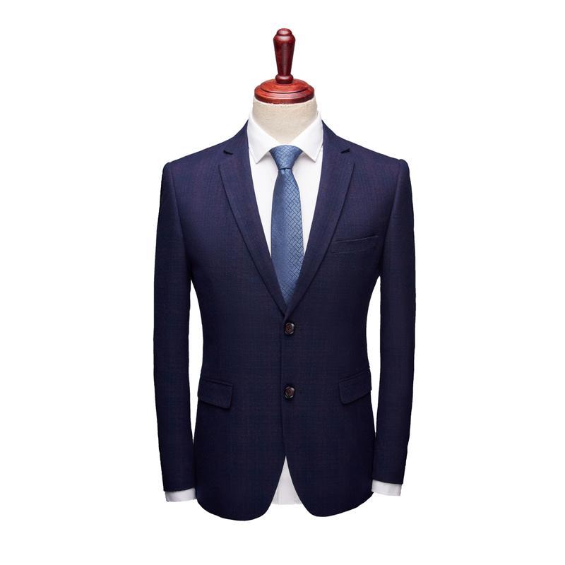 Traje Oscuro De Color Chaqueta Azul Aseo Compre 2019 q6tR11
