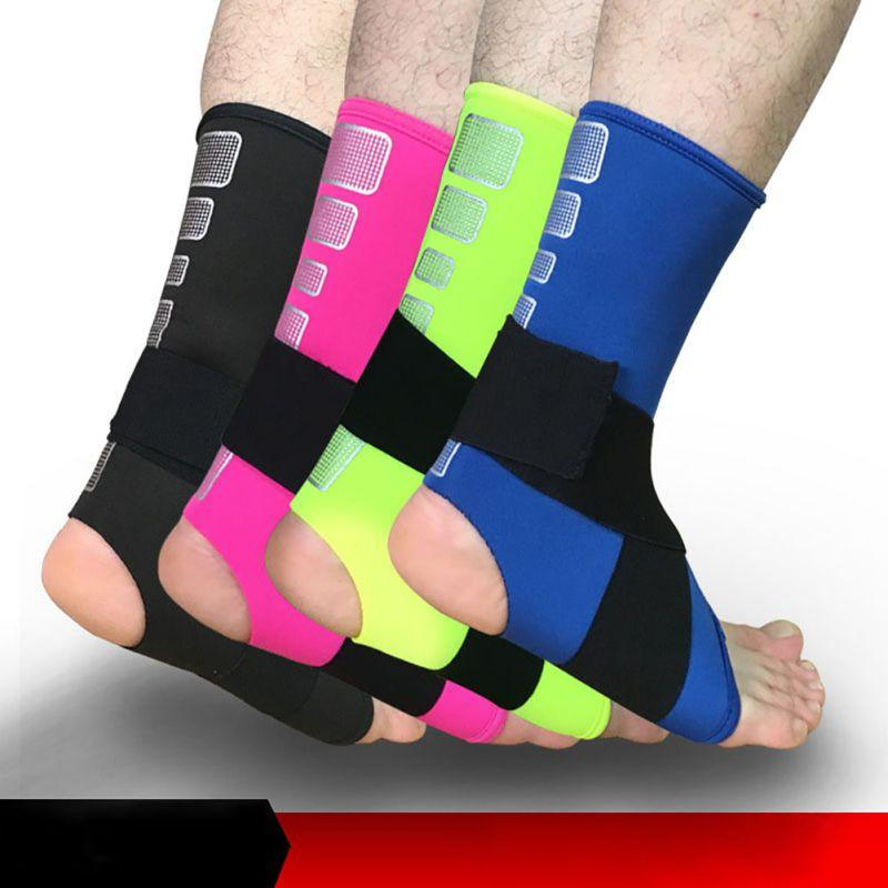 Sports Accessories Ankle Support Professional Sports Safety Strong Ankle Bandage Elastic Brace Guard Support Sport Gym Foot Wrap Protection Ankle Support
