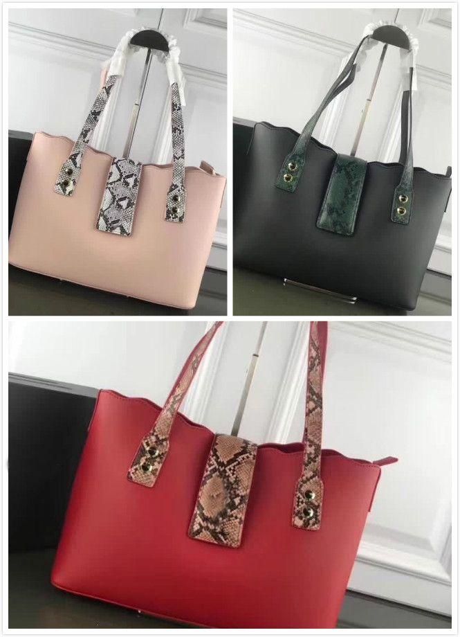 29526e08ae4a New Fashion Handbags Designer Handbags Simple Atmosphere Leather Plain  Pattern Feel Awesome