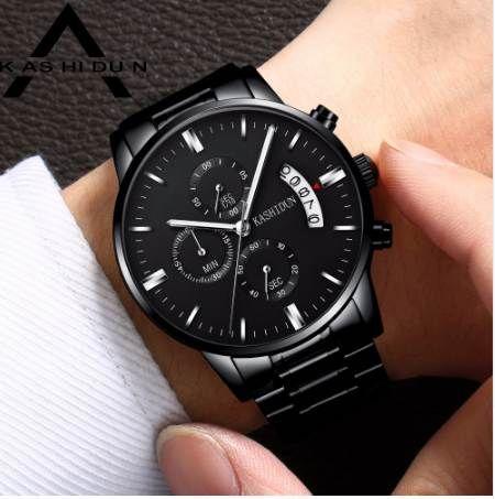 f214aa8e5686f Satın Al KASHIDUN Relogio Masculino Erkekler Saatler Lüks Ünlü Üst Marka  Erkek Moda Rahat Elbise Askeri Ordu Kuvars Saatı Saat, $39.6 | DHgate.Com'da
