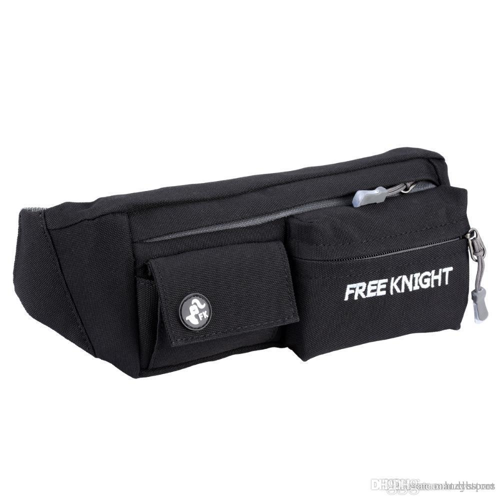 dd9868122e41 Wholesale- Free Knight Water Resistant Running Belt Bum Waist Pouch Fanny  Pack Camping Sport Hiking Zip Bag Phone Pouch