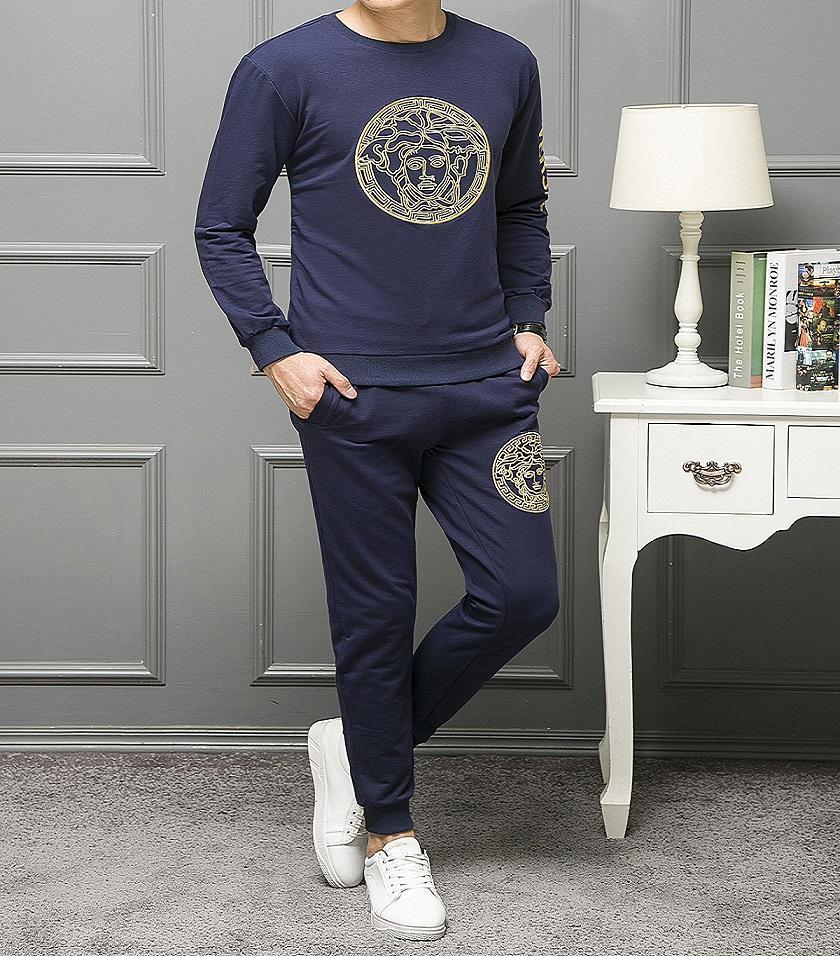7b564af24 2019 estilo de moda chándales para hombre diseñador chándales monos hombres  jogging trajes sudaderas con capucha pantalones otoño primavera ...