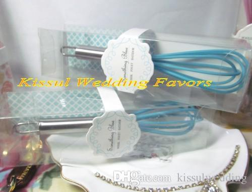 "Practical Wedding favor ""The Perfect Mix"" Pink Kitchen Whisk for Bridal shower Favors and Original Wedding gifts"