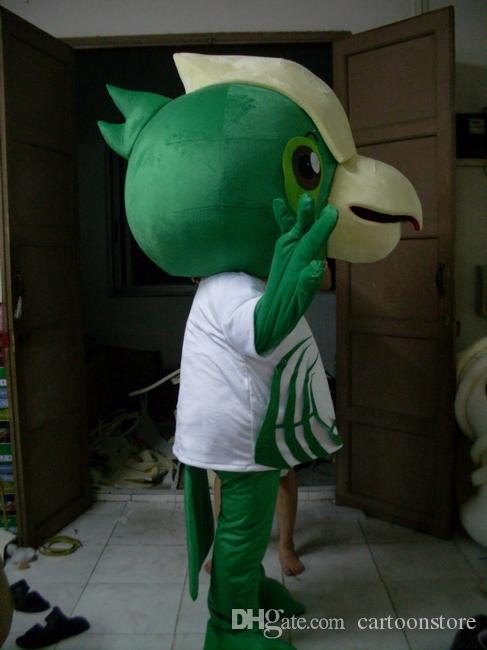 Green Birds mascot costume cute Birds Parrot costume costume for adults