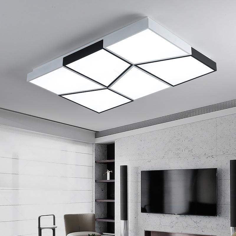 Großhandel Moderne LED Deckenleuchten Wohnzimmer Leuchten Armaturen ...