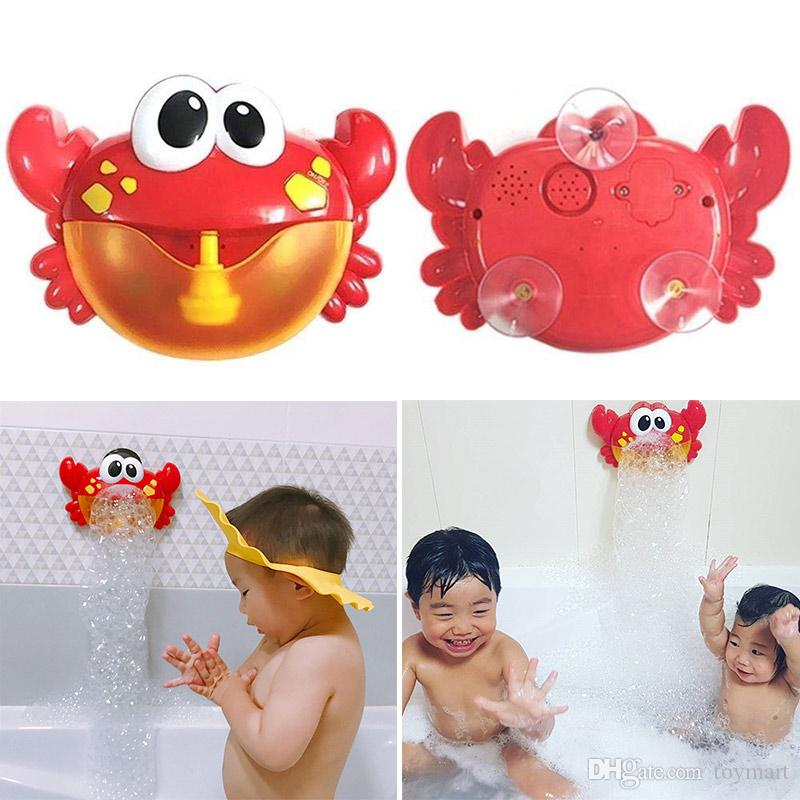 Bubble Crabs Baby Bath Toys Funny Music Bubble Maker Pool Swimming ...