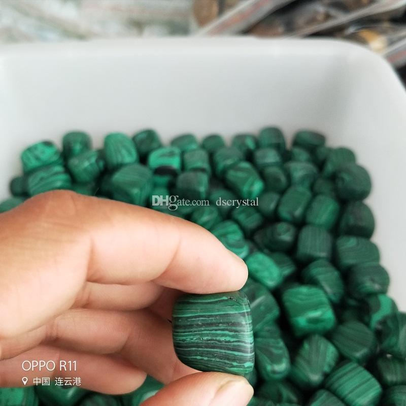 1/2lb массовая упали камни Малахит из Африки - поставки натурального полированного камня Викка, рейки, и Кристалл HealingWholesale энергии