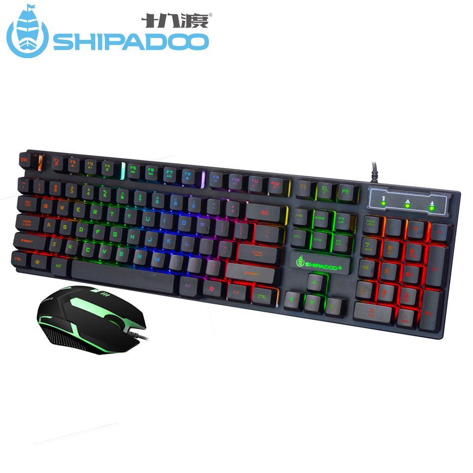k280 usb wired gaming keyboard silent 104 keys ergonomic multimedia keyboard rainbow led. Black Bedroom Furniture Sets. Home Design Ideas