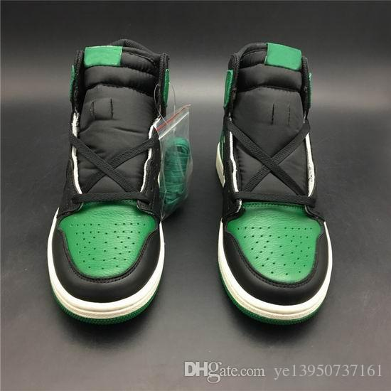 49efdbb50fcf 2018 Hottest Newest Release1s High Quality OG Pine Green 555088 302 Men  Casaul Shoes White Green Quality Casaul Shoes Dress Shoes For Men Suede  Shoes From ...