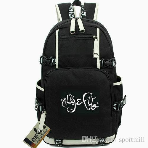 3ad568bd2d 2019 Surrender Backpack Aly Fila School Bag Fadi Wassef Naguib Daypack  Canvas Schoolbag Out Door Rucksack Sport Day Pack From Sportmill