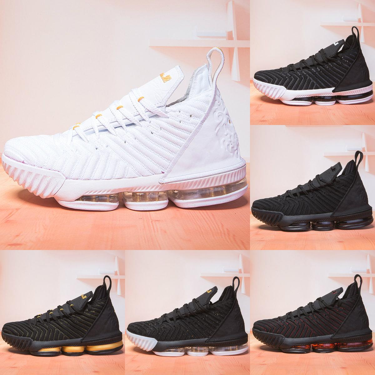 huge discount 48835 0e542 Youth Ashes Ghost Lebron 16 White Black Lebrons Mens Basketball Shoes  Training Arrival Sports Sneakers XVI Trainer Shoe James Good Kids Shoes  Black Tennis ...