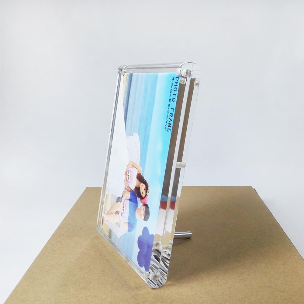 2018 Free Standing Screw Lucite Perspex Photo Picture Frame Holders ...