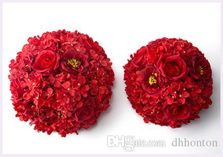 Wedding decoration flower centerpiece for table flower ball kissing ball table centerpiece holder flowers wedding decoration for party FBO21