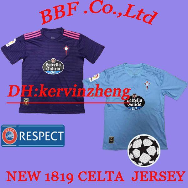 2019 Thailand 2018 2019 Kids Celta De Vigo BONGONDA HERNANDEZ NOLITO Gomez  Sisto Have Valencia Bilbao Seville Football Shirt Camiseta De Futbol From  ... e8a418b61
