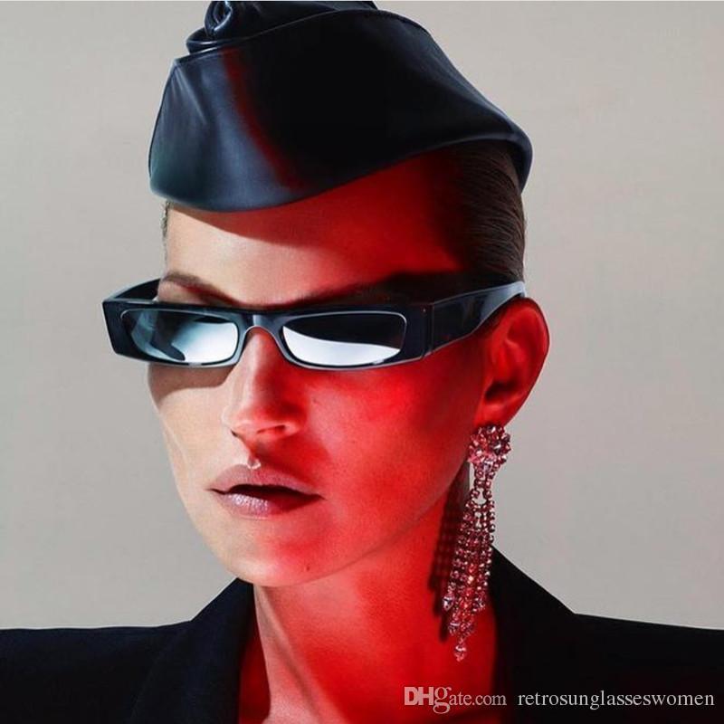16f0855130 2018 Rectangle Small Frame Sunglasses Womens New Design Fashion Ladies  Resin Eyewear UV400 Adumbral Small Sun Glasses Sale Rectangle Frame Sunglasses  Womens ...