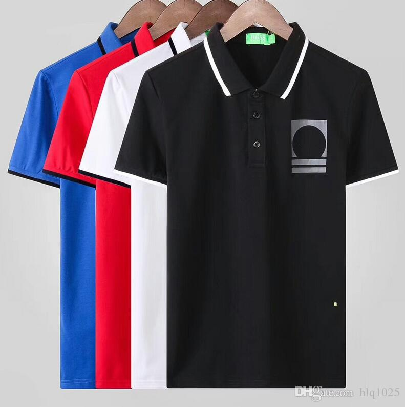 New Summer Hot Sale Brand Lapel Polo Cotton Shirt Men Short Sleeve Sport Polo T-Shirt Size M-3XL Free Shipping