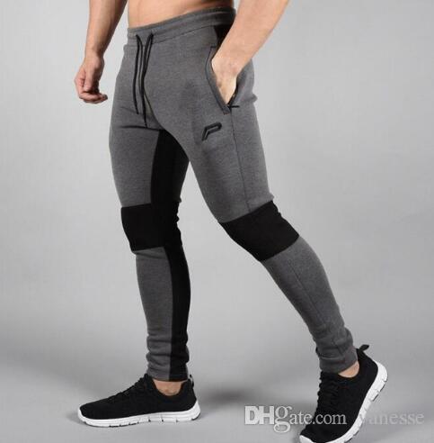 Compre Mallas Para Correr Hombres Joggers Pantalones Comprimidos Gimnasio  Pantalones De Culturismo Para Hombres Deportes Legging Delgado Ropa  Deportiva ... 679730a8e4eb7