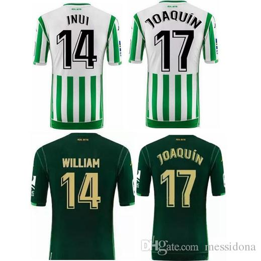 725f631cc9b6b 2019 2018 19 REAL BETIS HOME JOAQUIN 17 BARTRA 5 TELLO 11 Home Thailand  Quality Soccer Jersey Football Shirt Kit Camiseta Futbol Maillot De Foot  From ...