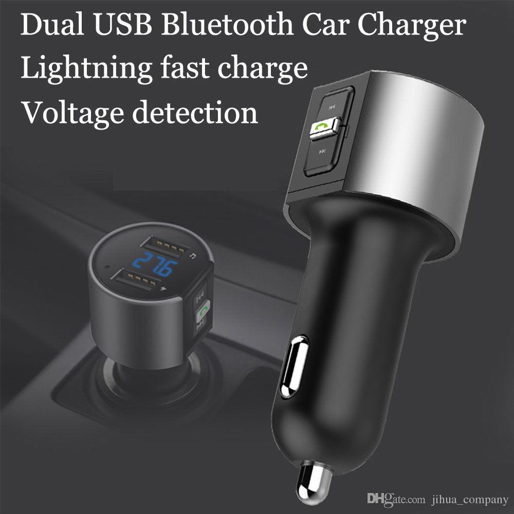 2018 C26S Car Bluetooth Wireless Radio Adapter MP3 Player TOP Quality Plus Dual USB Charger 7-10 days Arrive