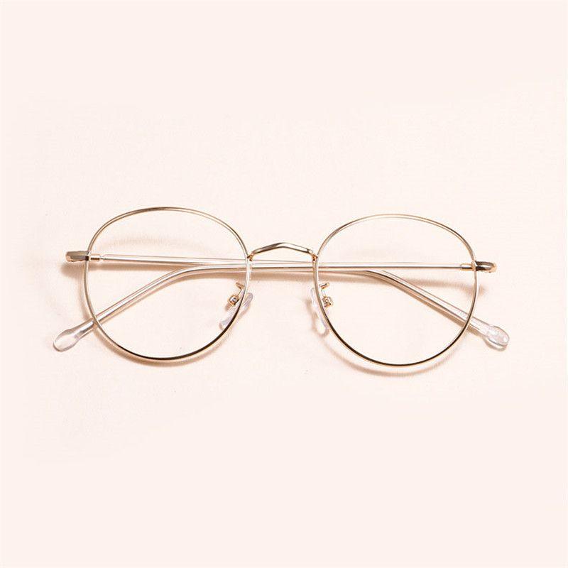 Compre MINCL   2018 Moda Gafas Ópticas Marco De Anteojos De ... 48b431199de9