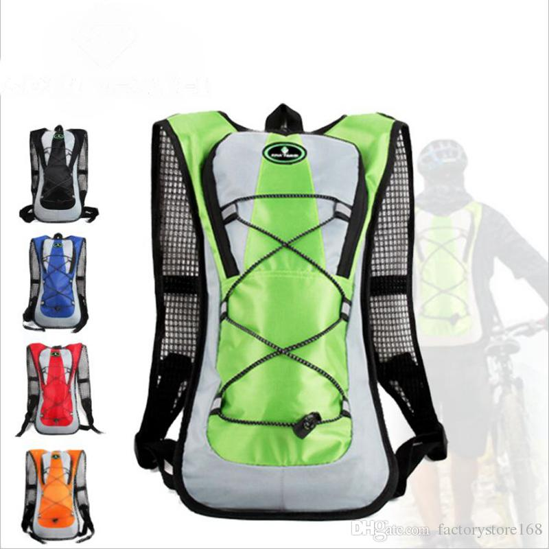5L Bicycle Hydration Backpacks Rainproof Outdoor Cycling Rucksack Bags Bike  Accessories Cycling Bags Without 2 L Water Bag Bicycle Bags Pannier Rack  From ... 4caa186097e62