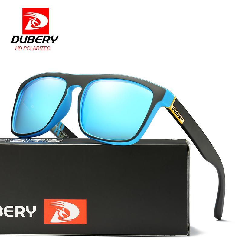 51aa3a9661 DUBERY 2018 Sunglasses Men Polarized Square Sport Driving UV400 Retro HD Sun  Glasses For Women Mirror Luxury Brand Designer D18101302 Sunglasses Hut  Reading ...