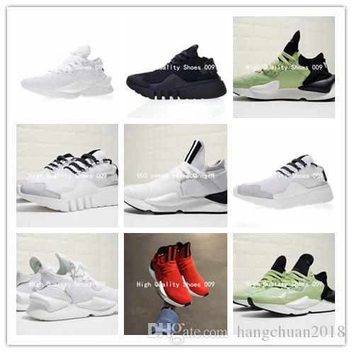 666c44444 2018 Newest Y 3 QASA High Racer Apple Green White Men Running Daddy Shoes  Couples Casual YohjiYamamoto Y3 Sports Kaiwa Chunky Sneakers 38 44 Shoe  Shopping ...