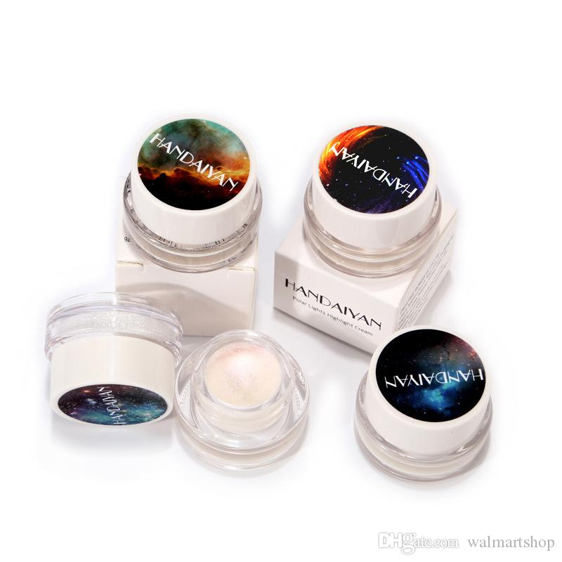Mode 3D Yeux Glitter Surbrillance Ombre à Paupières Poudre Palette Arc-En-Briquet Ombre à Paupières Pigments Cosmétique Maquillage Outils bea457