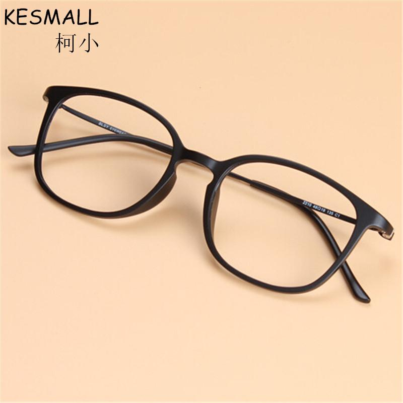 4dfeade358dd 2019 KESMALL 2017 Glasses Ultra Thin Unisex Pattern Fashion Retro Optical  Spectacle Eyeglasses Frame Vintage Eye Frames Men BY053 From Hiramee, ...