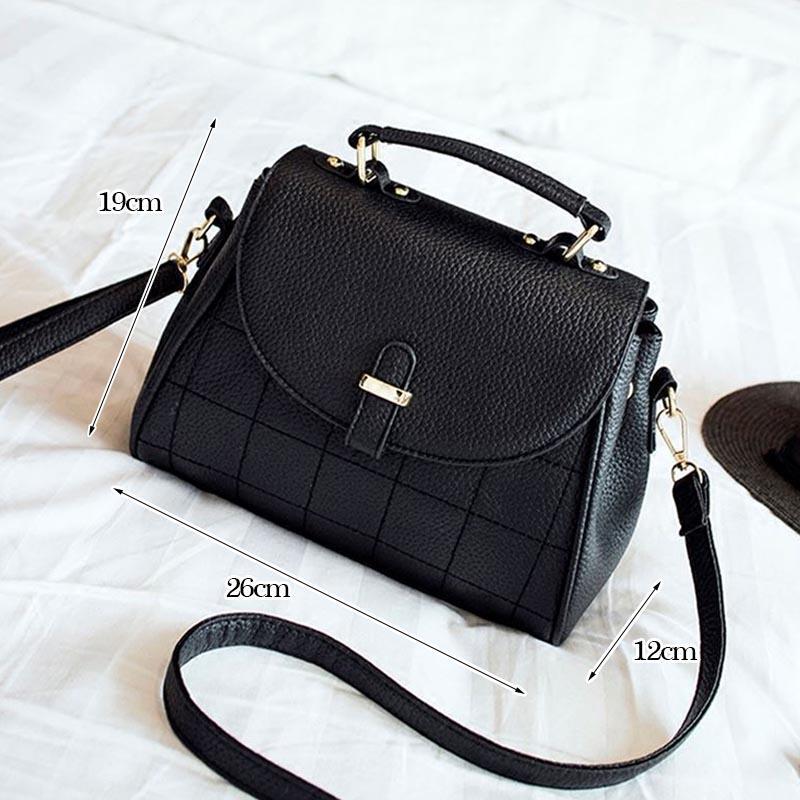 50878dfc61a36 uggage Taschen Handtaschen Tinkin Damen Elegant PU Umhängetasche Damen  Vintage Plaid Handtasche Damen Daily Shopping Umhängetasche Allgleiches  Casual .