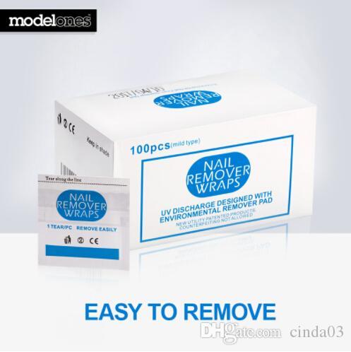 Nails Art & Werkzeuge 200 Pcs Nail Art Make-up Entferner Lint Freies Reiniger Wischen Baumwolle Pads Papier Nagel Werkzeuge