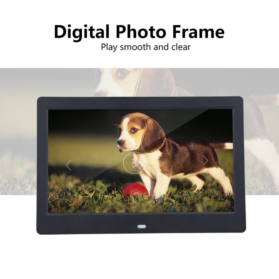 2019 10 Led 1024 X 600 High Resolution Digital Photo Frame Hd