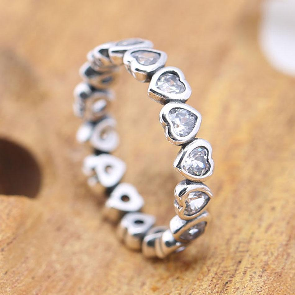 e2087317d 2019 Authentic 925 Sterling Silver Ring For Woemn Forever More Love Heart  Ring Girl Birthday Party Gift Fine Jewelry From Jamesjewelry, $17.71 |  DHgate.Com