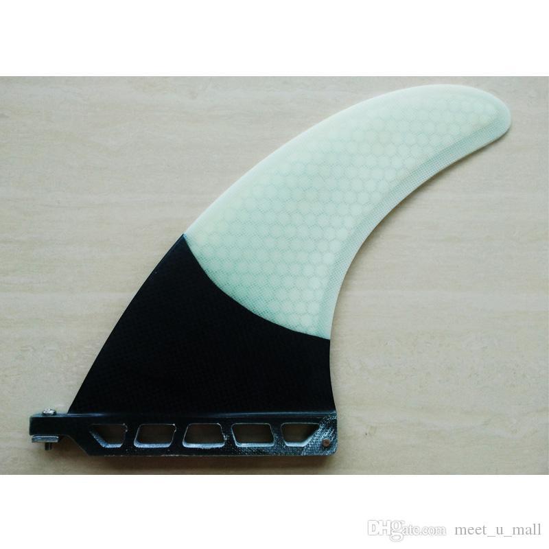 8 بوصة واحدة زعنفة Surfboard Fin SUP الوقوف مجداف زعانف مركز SUP Fin Center زعانف لتصفح SURFF022